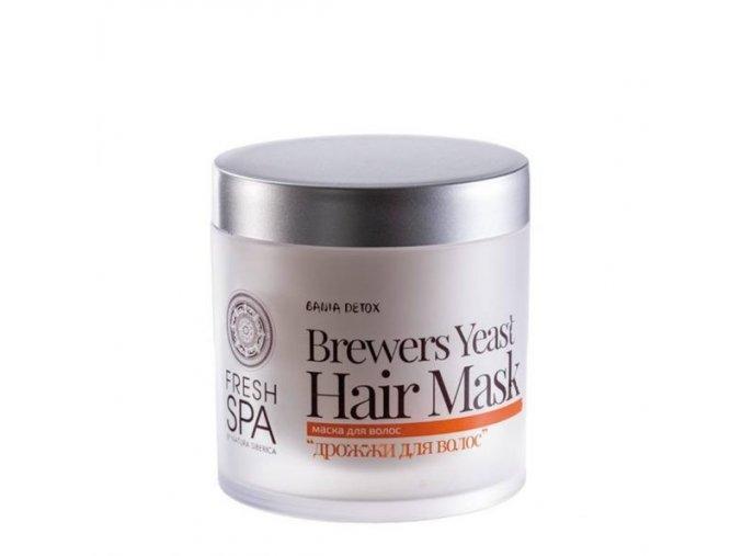 Bania Detox – Maska pro posílení vlasů - Pivní kvasnice 400ml