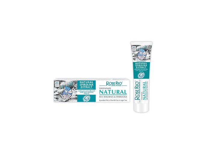 Zubní pasta NATURAL s mořskými minerály a spirulinou 65ml