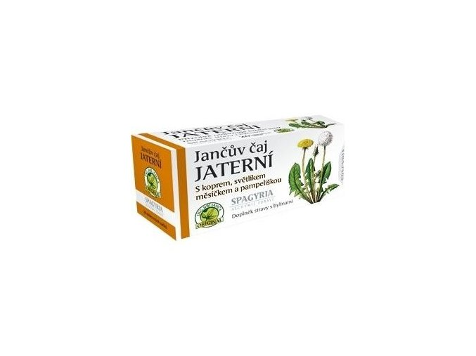 Jančův jaterní čaj 20n.s.