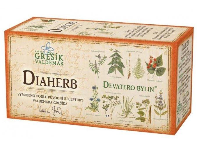 Bylinný čaj  Diaherb  porcovaný 20 n.s.