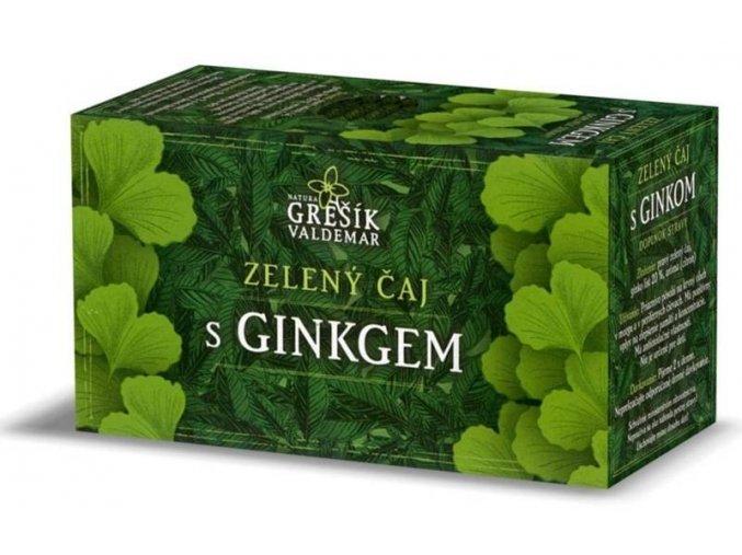 Zelený čaj s ginkgem přebal 20n.s.