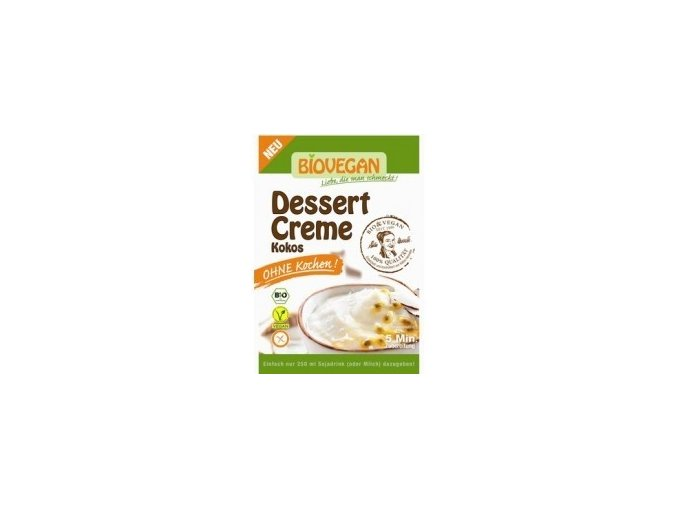 BIO Dezert krémový Kokos bez vaření 63g