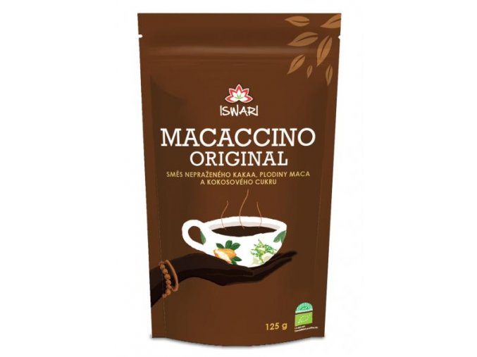 BIO Macaccino- kakaový nápoj s macou  125g