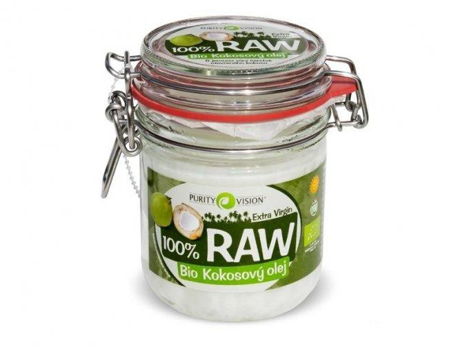 BIO RAW Kokosový olej 300ml  +  Bambucké máslo 15ml zdarma