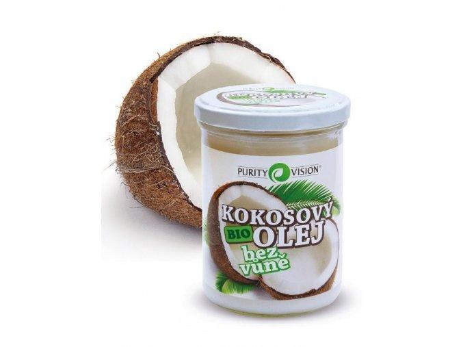 BIO Kokosový olej bez vůně 400ml