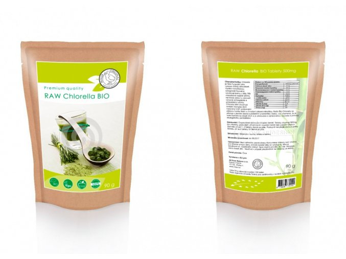 BIO Chlorella tablety 90g