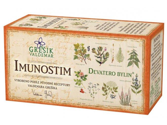 Bylinný čaj Imunostim 20x1,5g