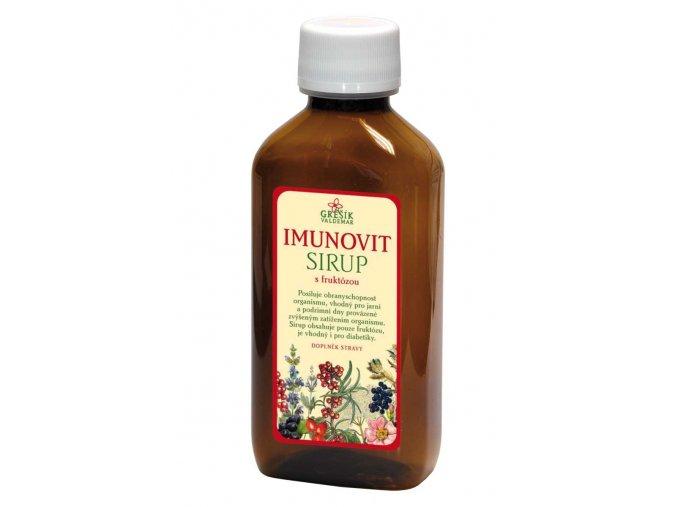 Byliný sirup Imunovit 185ml