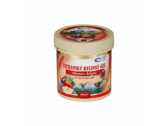 Tatranský bylinný gel - hřejivý 250ml