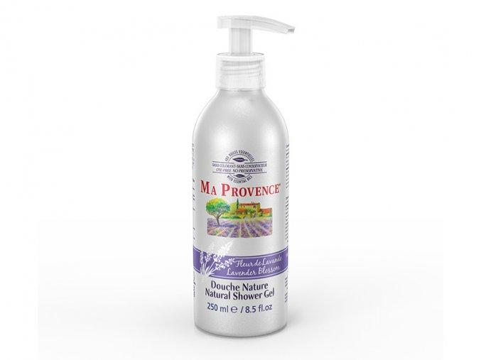 Pravý přírodní sprchový gel s vůní LEVANDULE 250ml