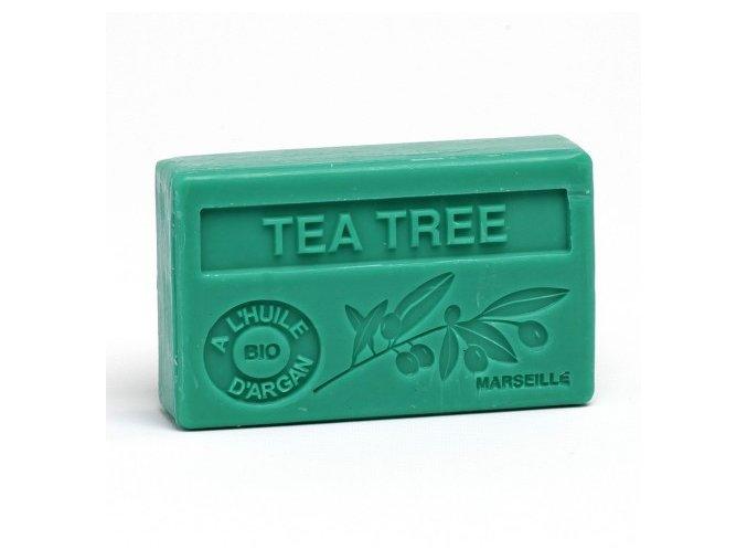 Mýdlo s bio arganovým olejem - Tea tree 100g