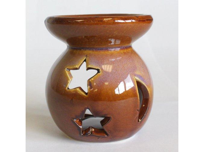 Aromalampa YIN - YANG hnědá