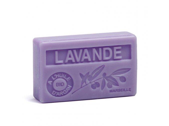 Mýdlo s bio arganovým olejem - Levandule  100g
