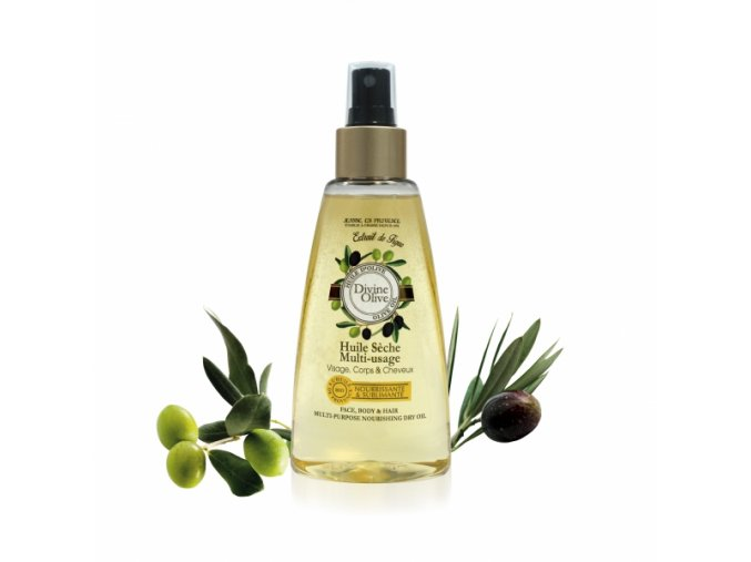 Víceúčelový výživný olej na tělo a vlasy Oliva 150ml