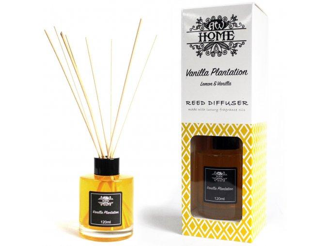 Reed difuzér - Vanilková plantáž 120ml