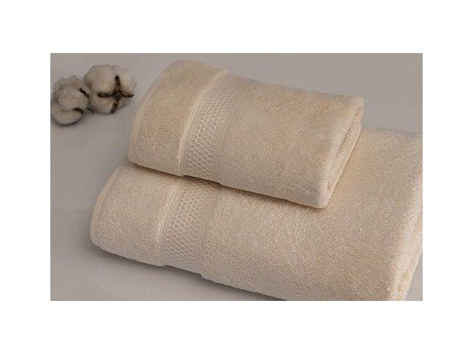Luxusní ručník BIO ORGANIC z biobavlny - Přírodní barva