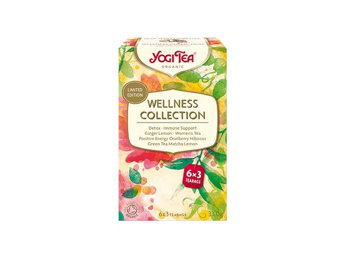 YOGI TEA Výběrová sada BIO čajů Wellnes Collection 6x3 sáčly