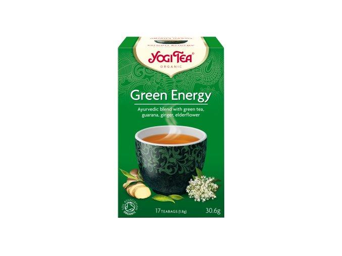YOGI TEA BIO Zelený čaj - Green Energy 17x1,8g