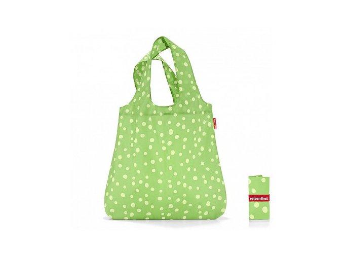 Mini maxi shopper spots green-MAUR.cz