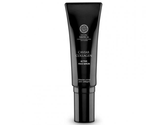 aktywne serum do twarzy caviar collagen 30ml