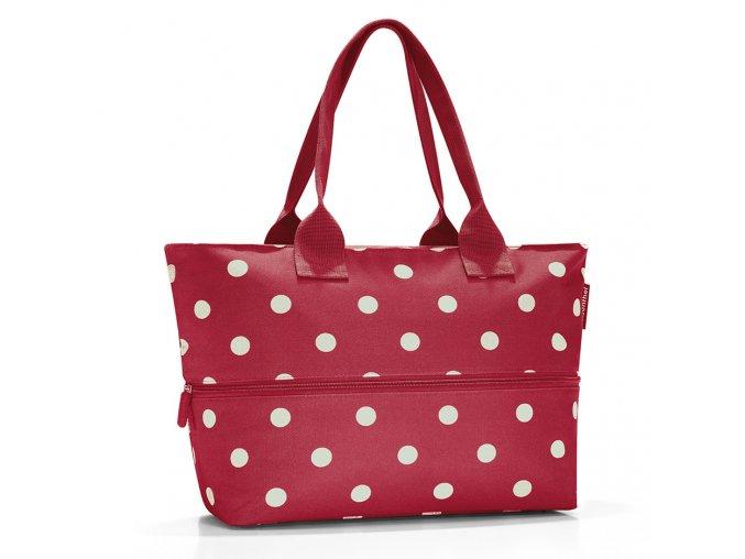 Shopper E1 ruby dots