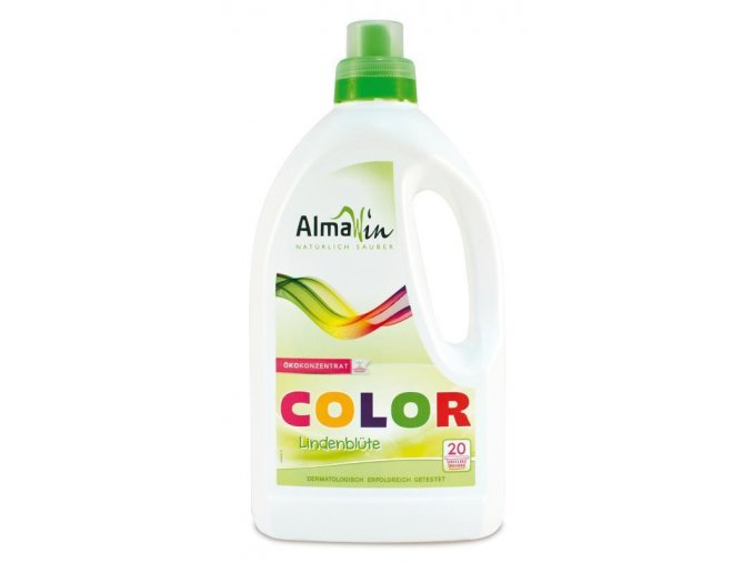 Tekutý prací prostředek na barevné prádlo COLOR - Lipový květ 1,5l