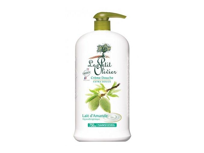 Sprchový krém - Mandlové mléko, 750ml