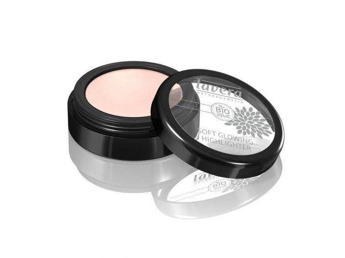 Zářivý rozjasňovač 02 - perleťově růžová 4 g