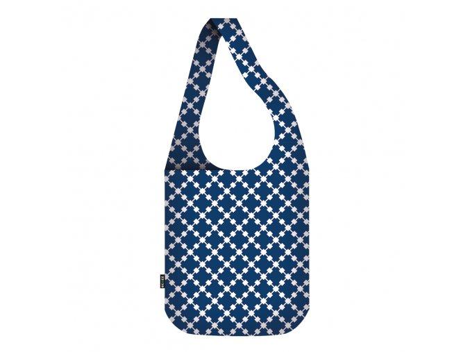 Blue Squares Crossbodybag