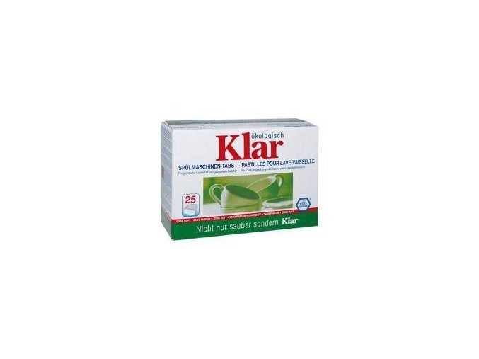 KLAR - Tablety do myčky 500g (25ks)