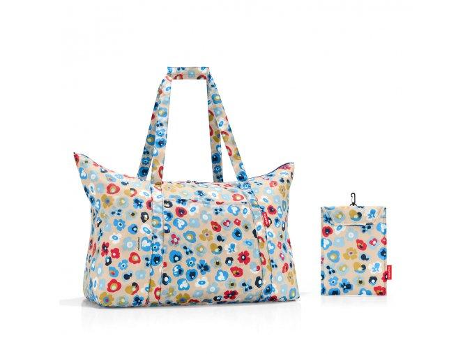 Skládací taška Mini maxi travelbag millefleurs