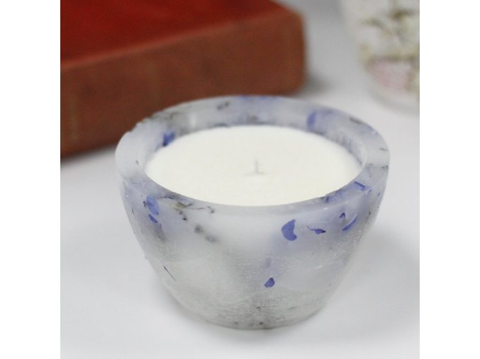 Luxusní sojová svíčka velká - levandule