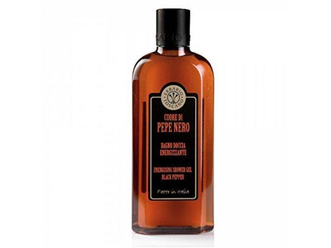 erbario toscano Energizující pánský sprchový gel - Černý pepř, 250ml
