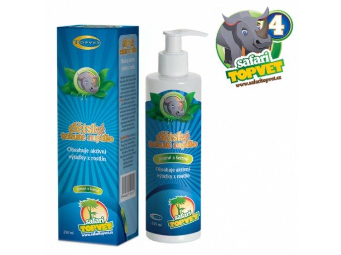 Safari - Dětské tekuté mýdlo 250ml