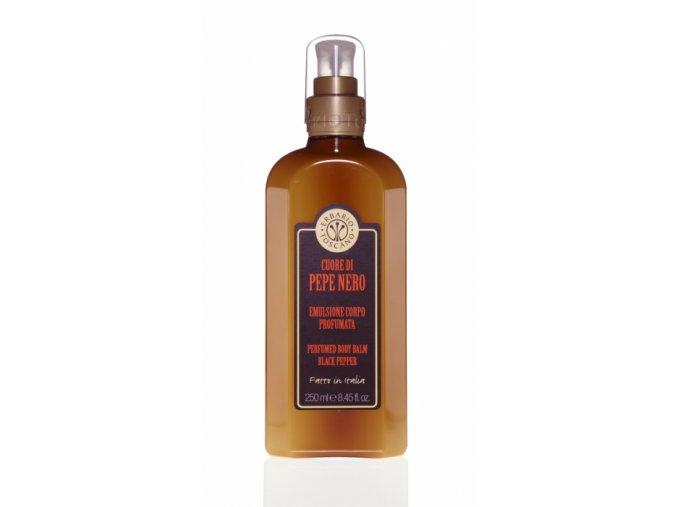 Parfémovaný tělový balzám - Černý pepř, 250ml
