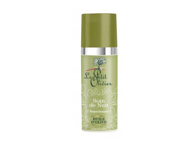 Vyživující noční pleťový krém s olivovým olejem - 50ml
