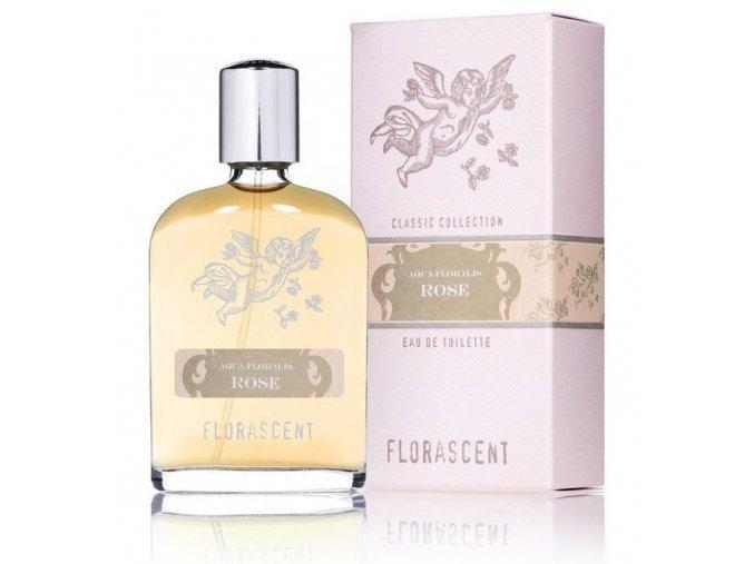 Dámská přírodní toaletní voda - Florascent Rose, Aqua Floralis 30ml