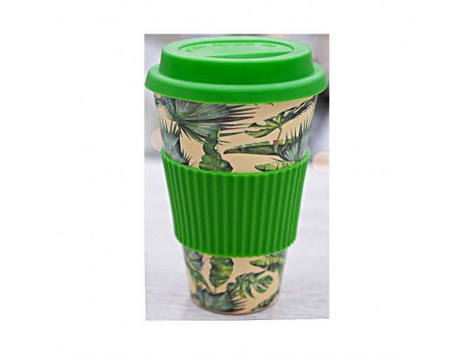 Eco Bamboo Termohrnek Tropical 450ml