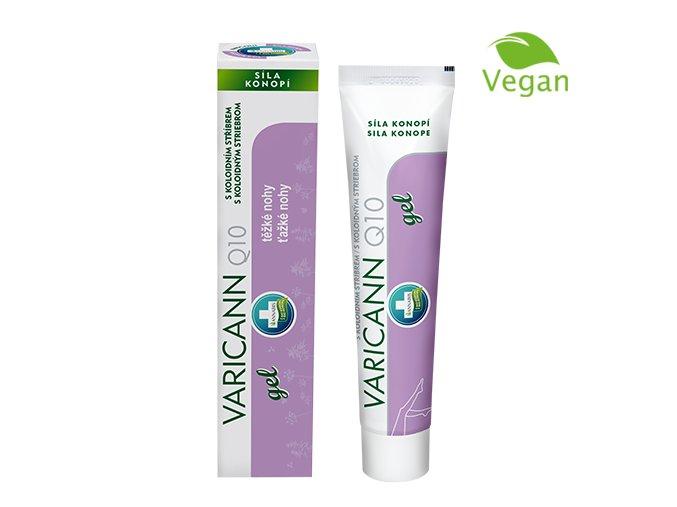 Annabis VARICANN Q10 Konopný gel 75 ml