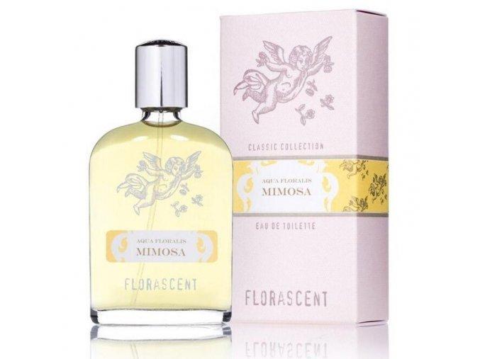 Dámská přírodní toaletní voda - Florascent Aqua Floralis Mimosa 60ml