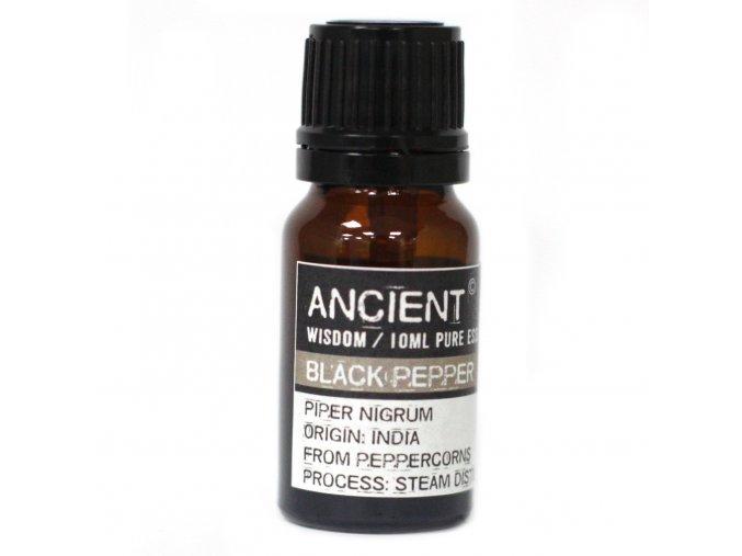 Esenciální olej Černý pepř 10 ml