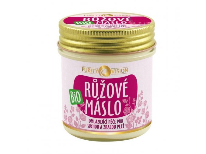 Purity VisionBio Růžové máslo 120 ml