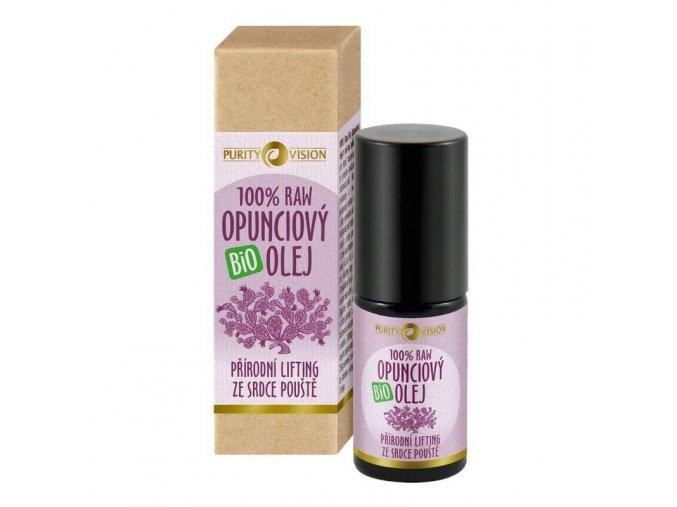 Purity Vision Raw Bio Opunciový olej roll-on 5 ml