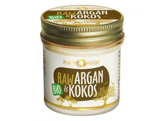 Purity vision Raw Bio Argan a Kokos 120 ml
