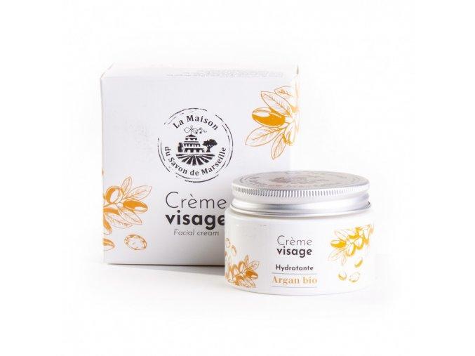 BIO Pleťový výživný krém Huile d´argan (s arganovým olejem) 50ml