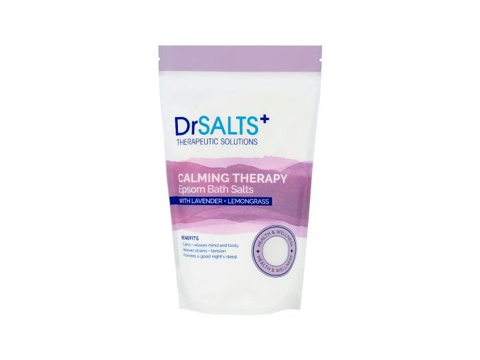 Dr Salts Epsomská sůl do koupele - Calming Therapy, 1kg