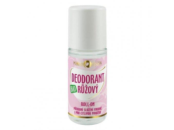 Bio Růžový Deodorant roll-on 50 ml