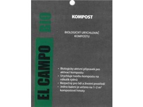 BIO Urychlovač kompostu EL COMPO 50g