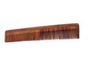 Hřeben palisandrové dřevo - dvojitý