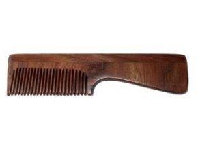 Hřeben palisandrové dřevo - s rukojetí